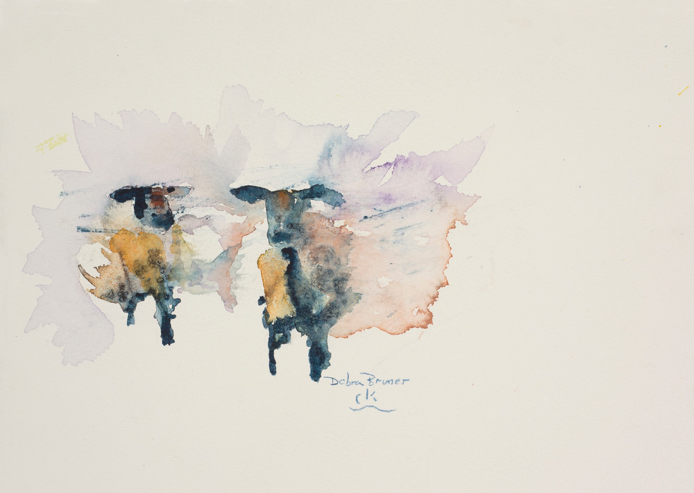 Two Blue Ewes