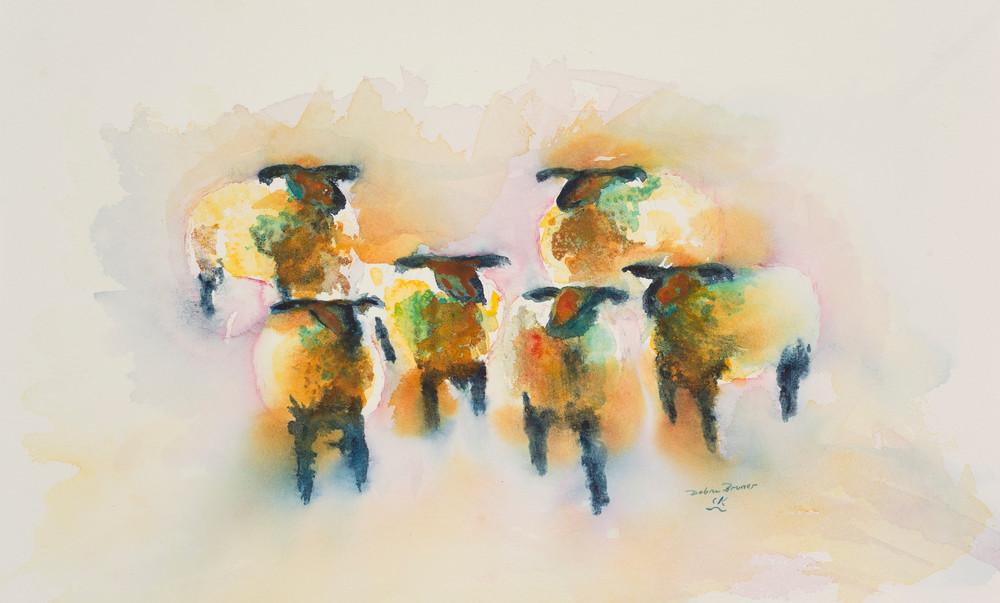 Range Sheep Art | Debra Bruner Studio