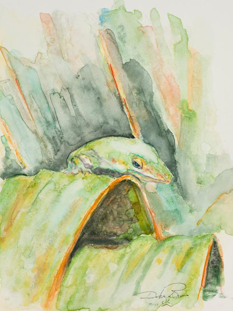 Anole  Art | Debra Bruner Studio