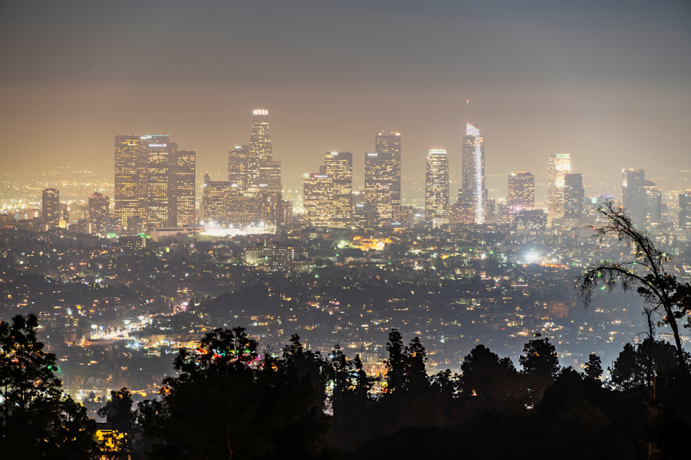 Smog and the Los Angeles Skyline - Los Angeles Best Pictures