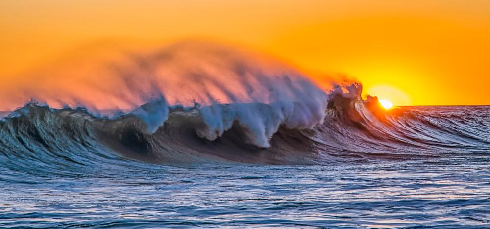 Aquinnah Sunset Wave 4 Art   Michael Blanchard Inspirational Photography - Crossroads Gallery