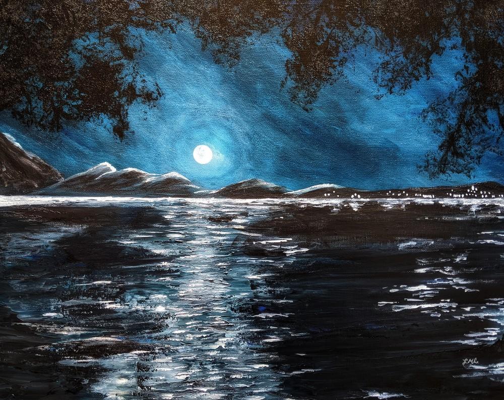 Full Moon | LML Studio Art
