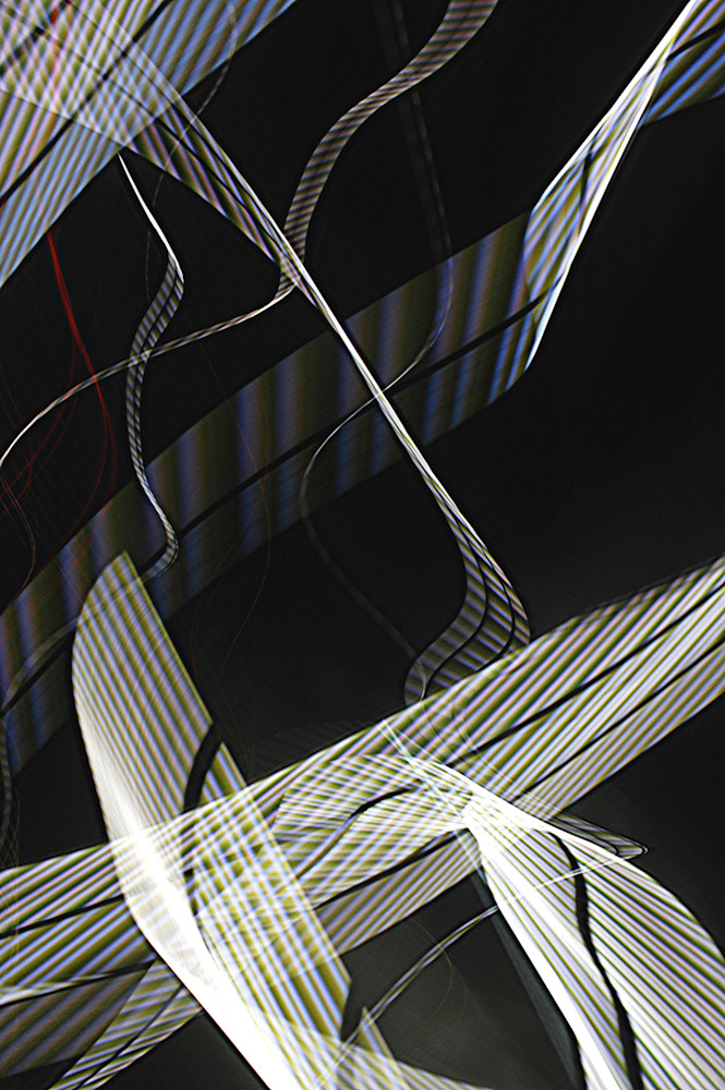 Old Bay Bridge Ceiling Lights Photography Art | David Louis Klein