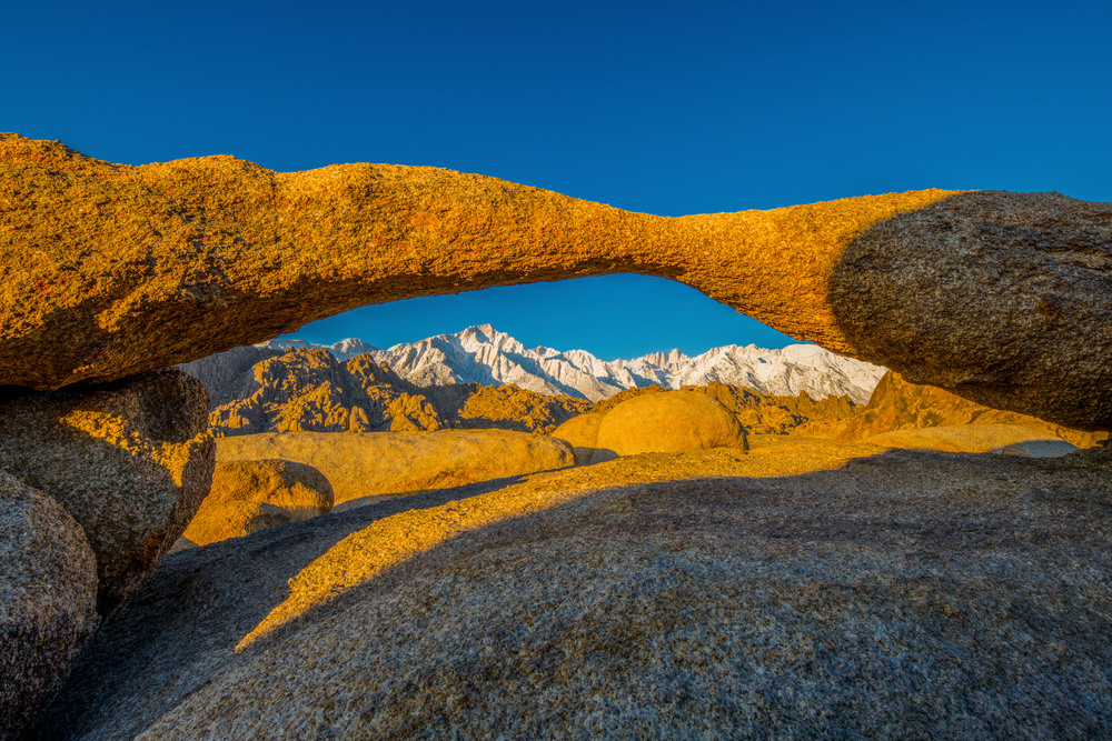 Eastern Sierras Through The Alabama Hills  Photography Art | Craig Primas Photography
