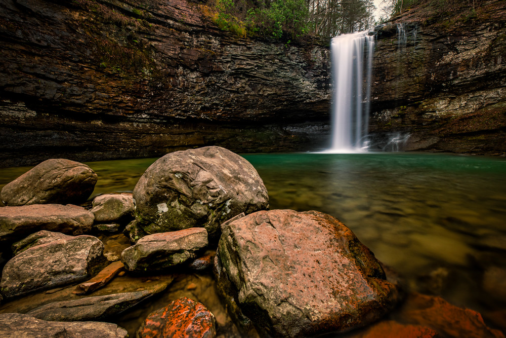 Cloudland Canyon serenity - Waterfalls fine-art photography prints