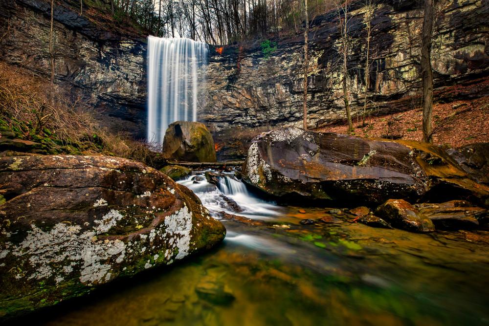 Cloudland Canyon Cascade - Waterfalls fine-art photography prints