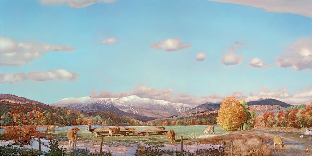 October Snow Art   The Huntington Studio