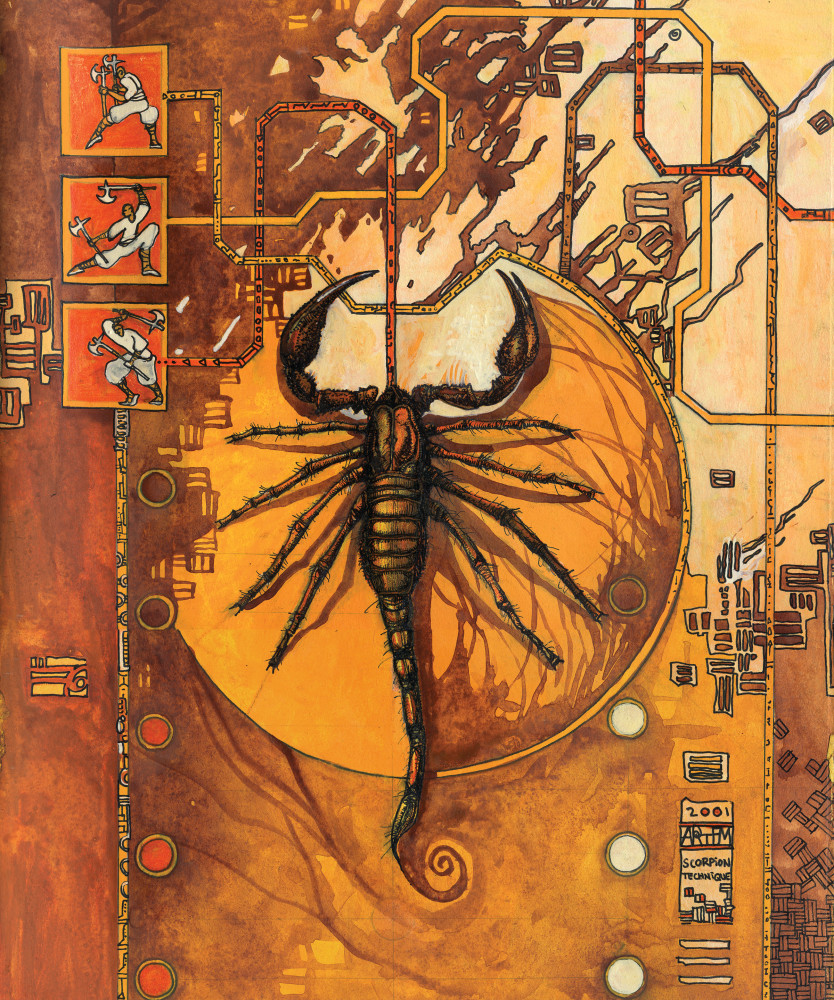 Scorpion Art   artemart