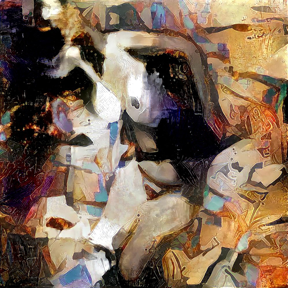 Female Abstract #3 Art | SkotoArt