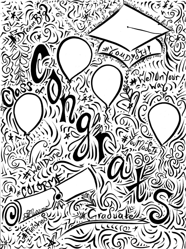 Congratulations Graduate Art | COLORME Art Spa