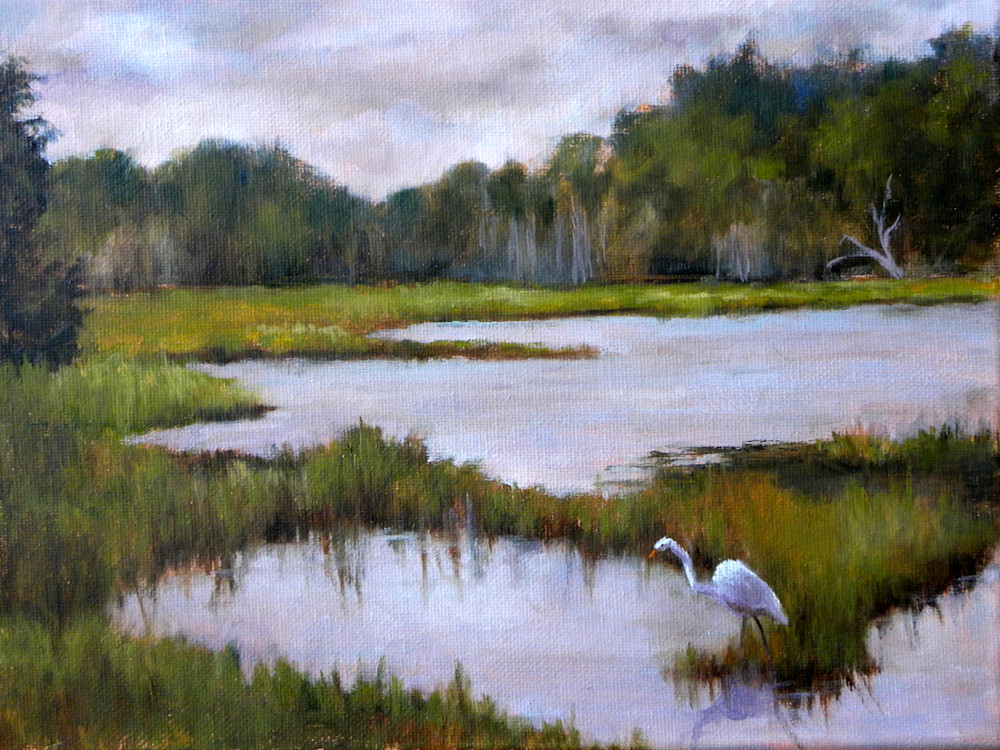 Life in the Low Country, From an Original Oil Painting