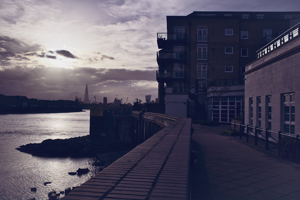 Sunshine Over The Shard Photography Art | Martin Geddes Photography