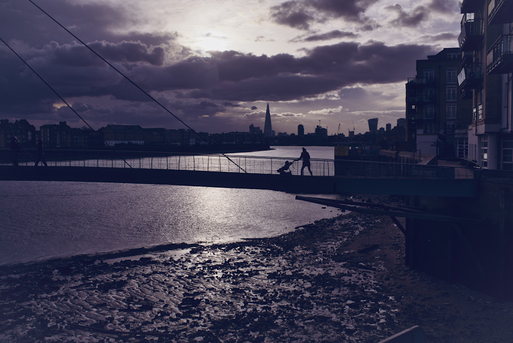 Low Tide At Limehouse Photography Art | Martin Geddes Photography
