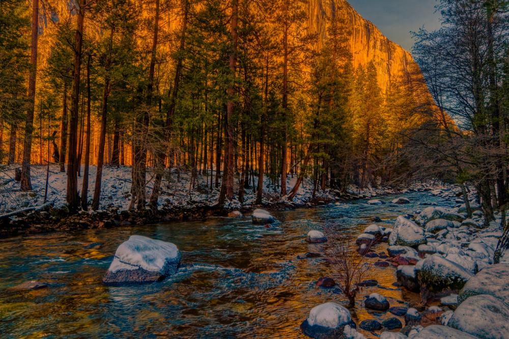 Yosemite Winter Photography Art | FocusPro Services, Inc.
