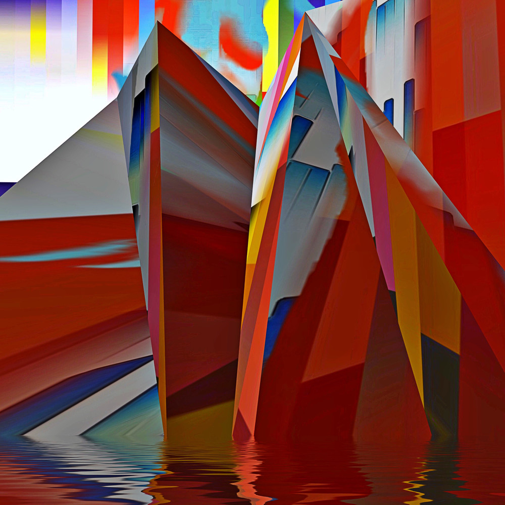 Red Mountain Art | Maciek Peter Kozlowski Art