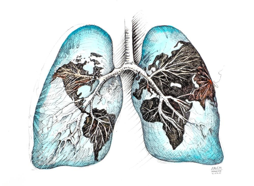 Lungs Of The World  Art | artemart
