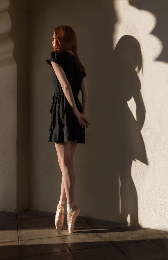 Hadley Dancer And Shadow Rev Photography Art | Dan Katz, Inc.
