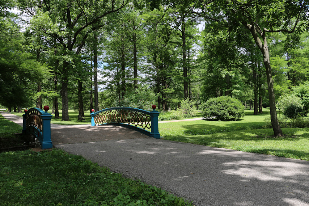 Footbridge in Tower Grove Park