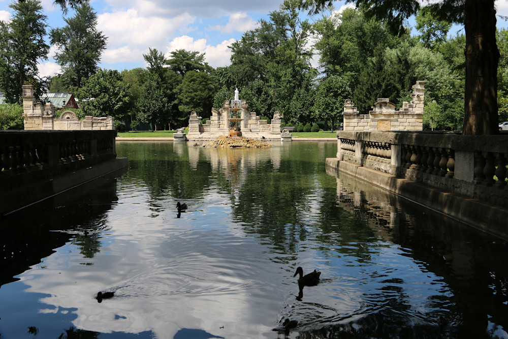 The Ruins in Tower Grove Park