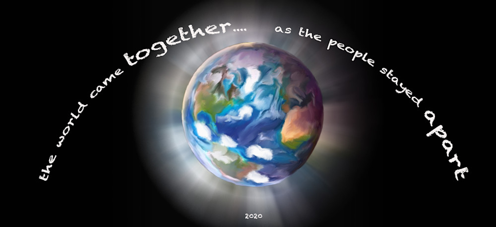 World Together (Small Metal Or Wood Sign) Art | DARDISartgalleries