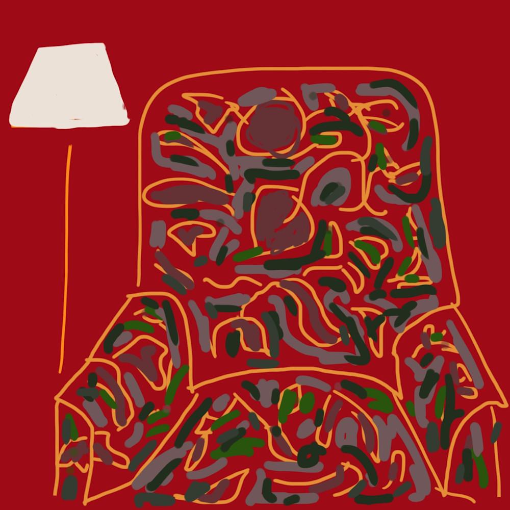 Chair (And Lamp) Art | stephengerstman