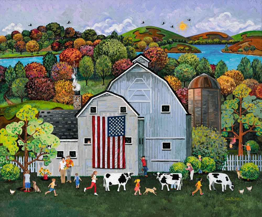 56855 Hide And Seek Art | Julie Pace Hoff Gallery