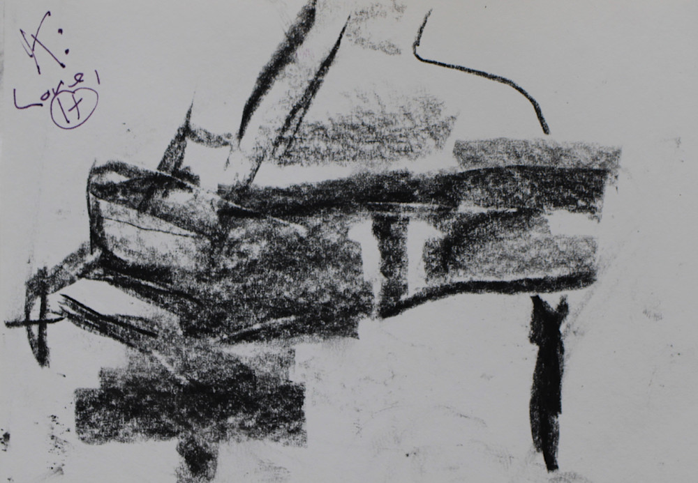 Grand Piano 2 Art | Howard Lawrence Fine Art