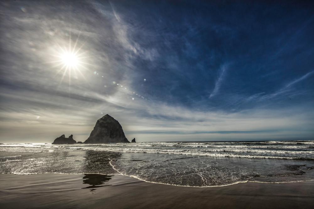 Haystack Rock, Cannon Beach, beach, ocean, Oregon, pacific