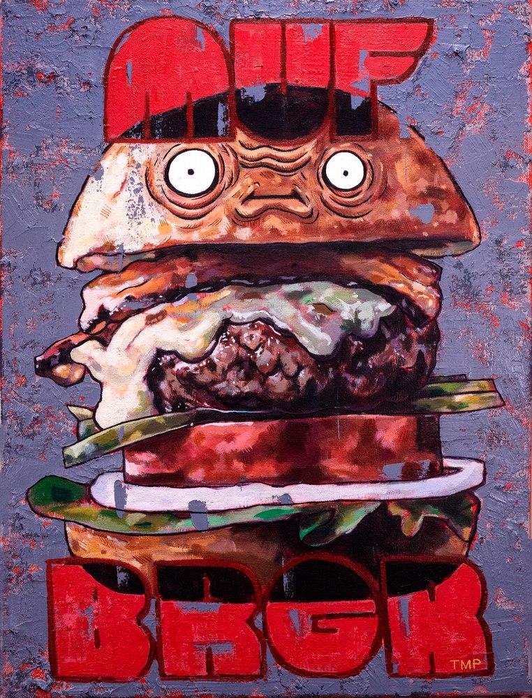 Muf Brgr  Art | Matt Pierson Artworks