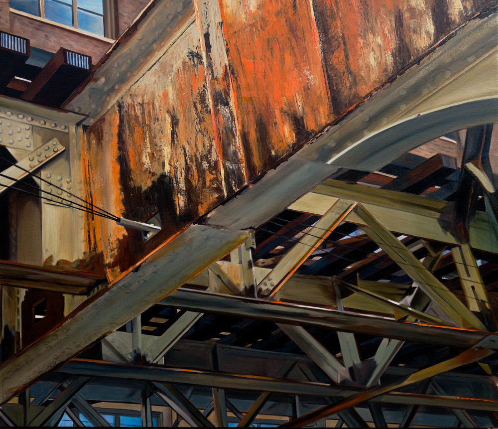 Old Rust on the Brown Line