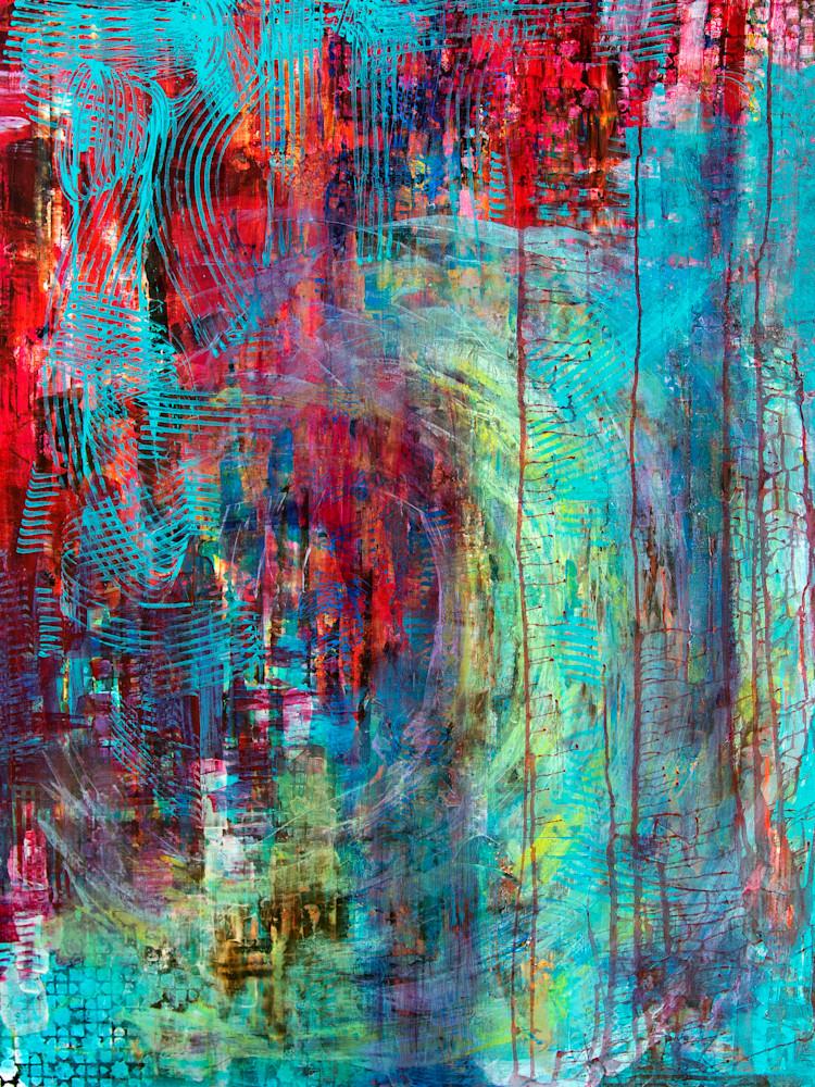The Shells In The Wave Art | Becka Watkins Art