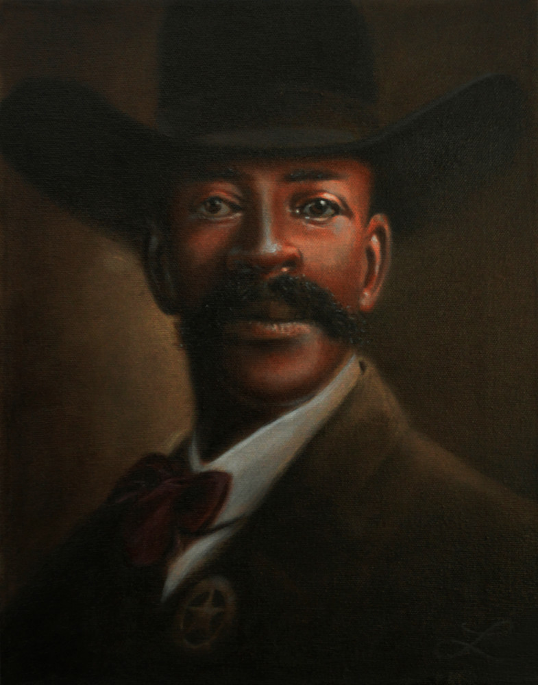 Bass Reeves (The Genuine Lone Ranger) Art | jamesloveless