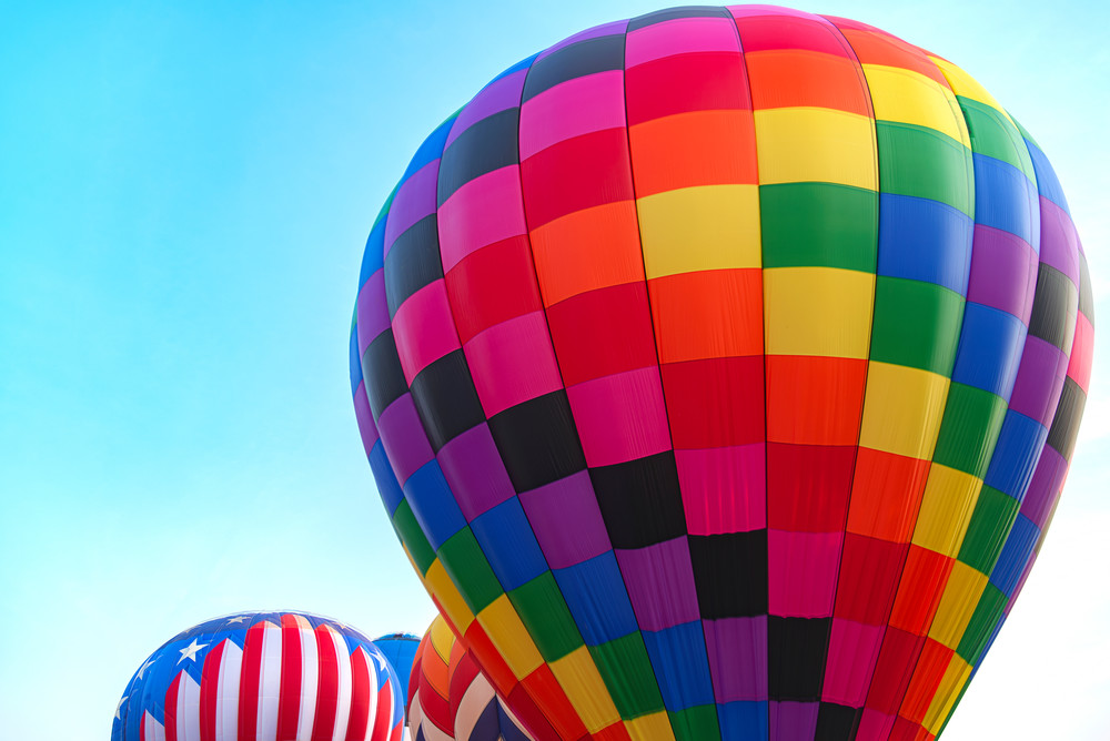 Hot Air Balloon photograph from Ridgeland, Mississippi.