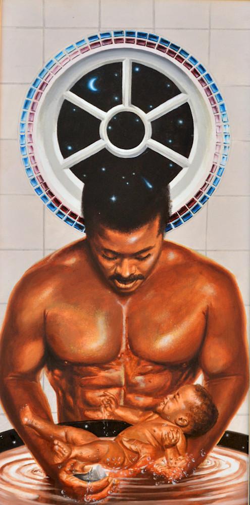Strong Man Art | James Loveless Art