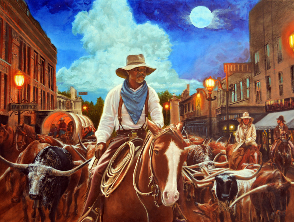 Old Town Road Art | James Loveless Art