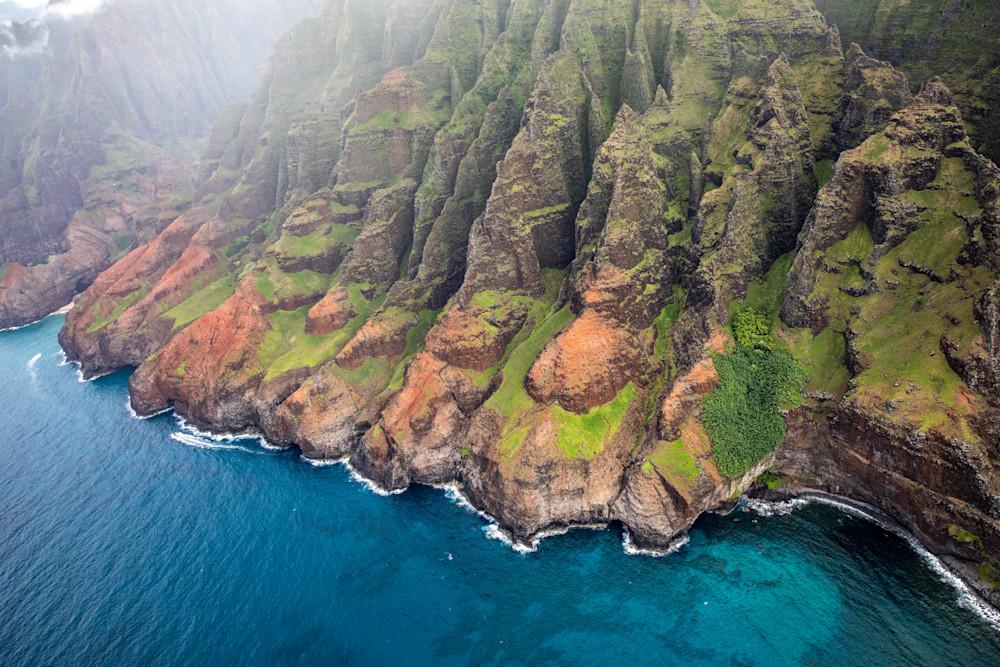 Nā PALI, COASTLINE, mountains, ocean