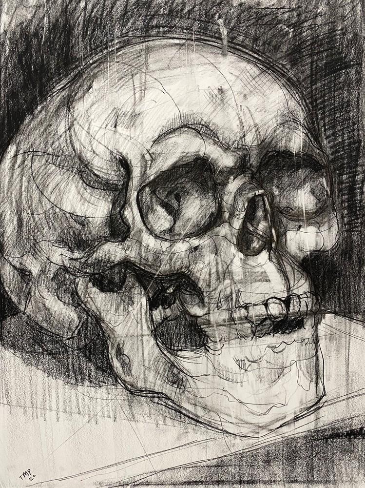 Skull V.4 Art | Matt Pierson Artworks