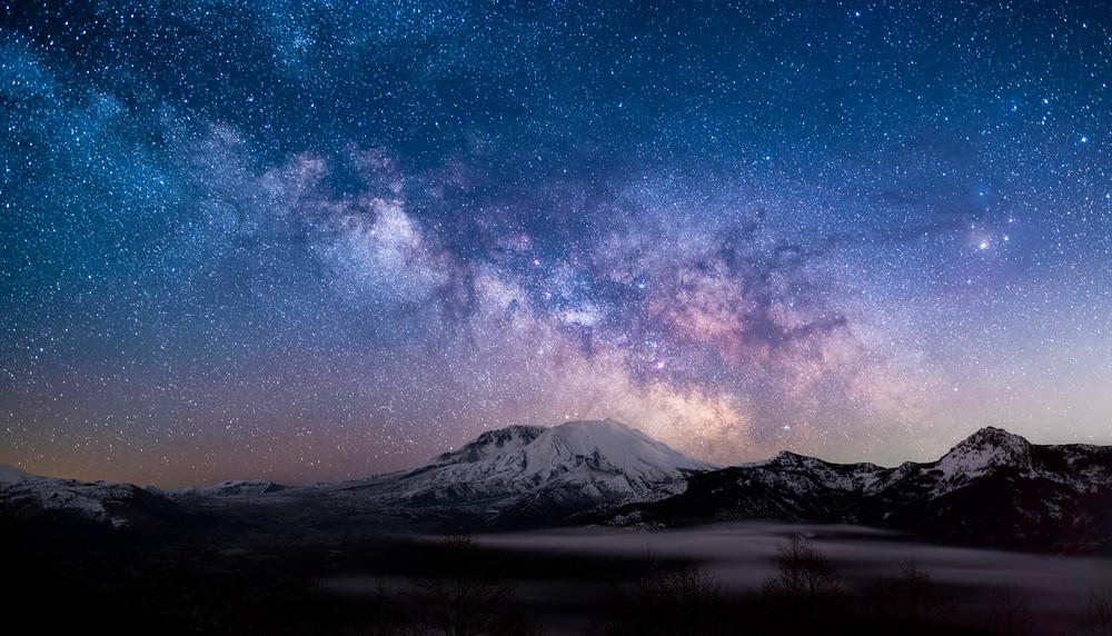 Mt St Helens Milkyway