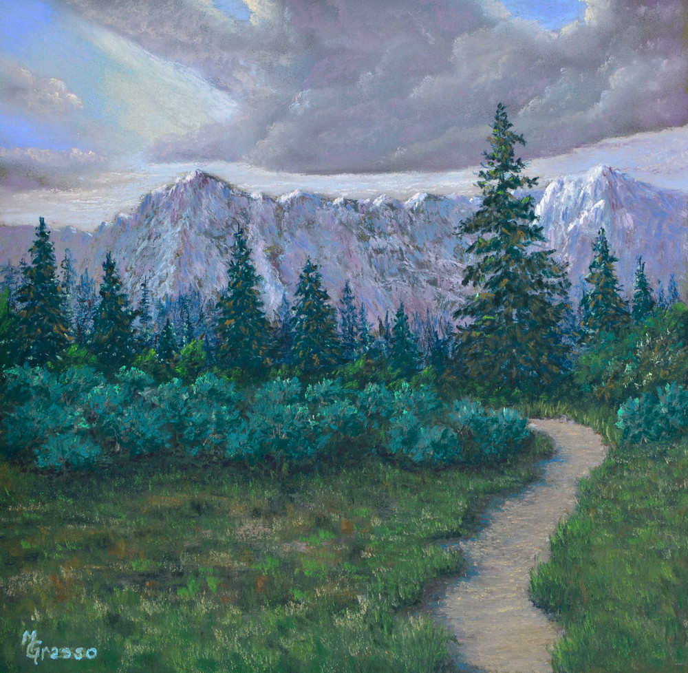 Trail To Swan Lake Art | Mark Grasso Fine Art