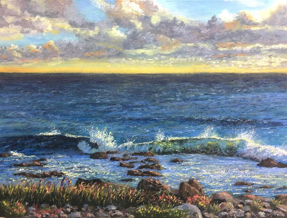 Sunrise On Bass Rocks Art | Mark Grasso Fine Art