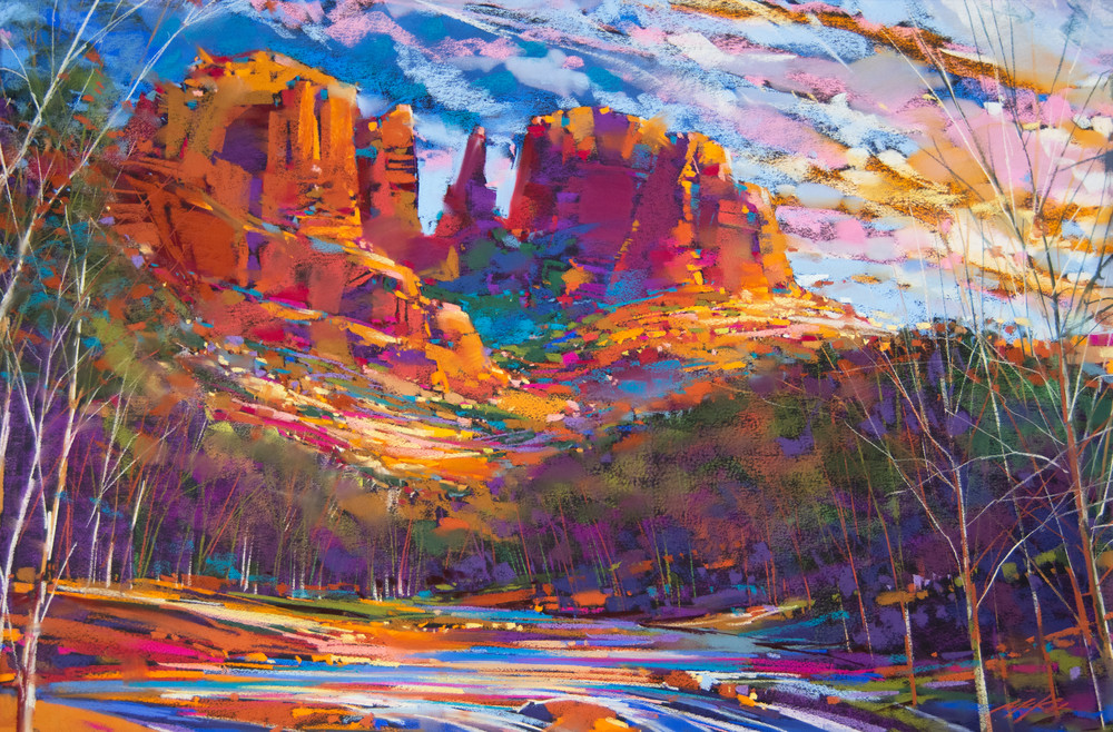 Cathedral Rock Shadow Art | Michael Mckee Gallery Inc.