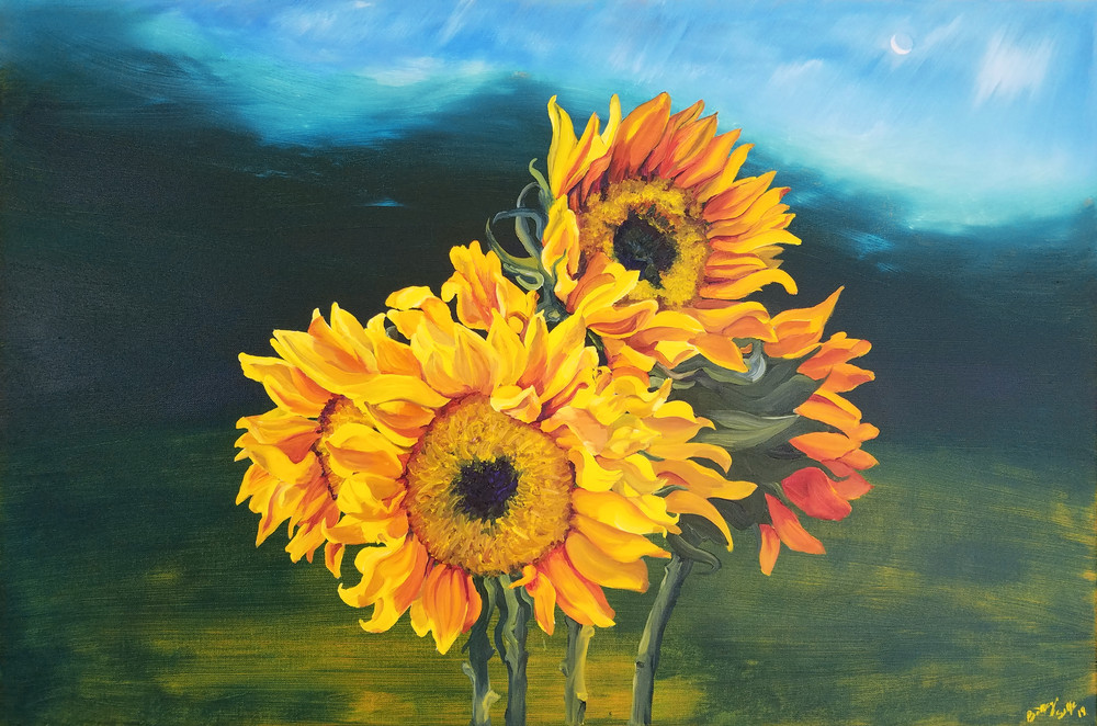 Sunflowers for Tati