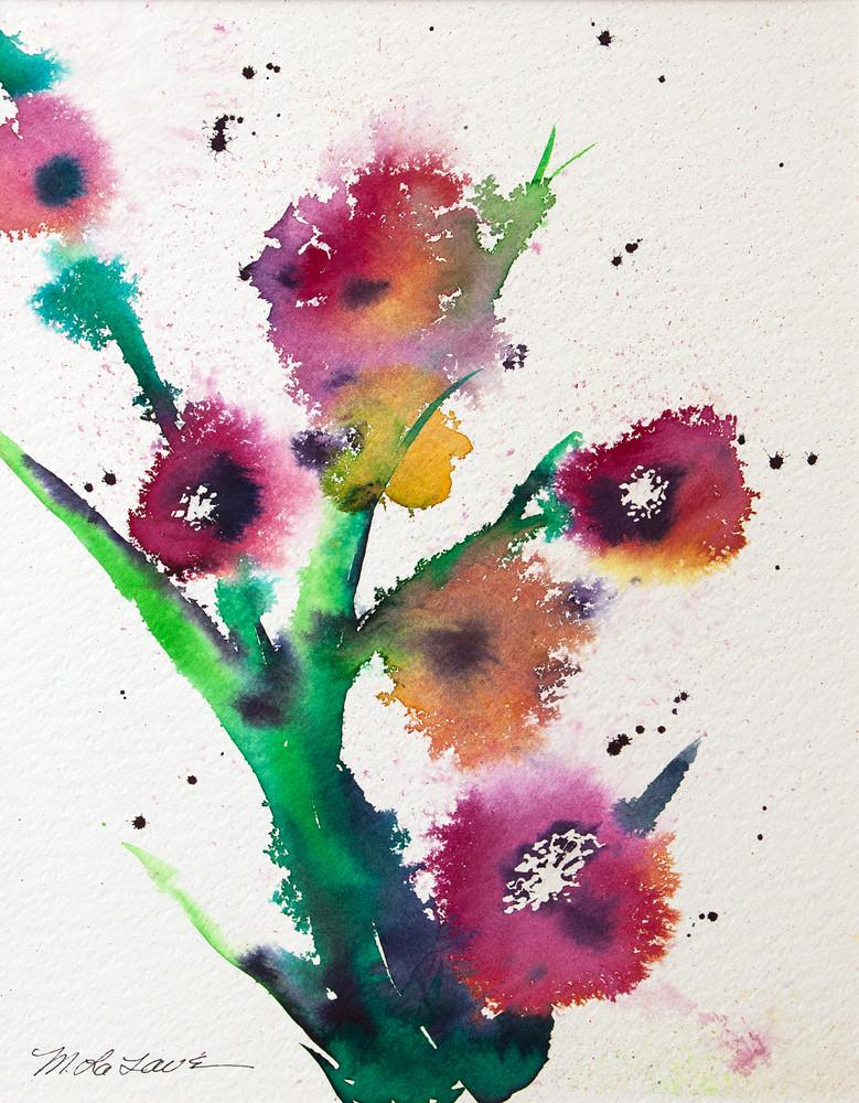 Flower Abstraction Ii Art | Mickey La Fave