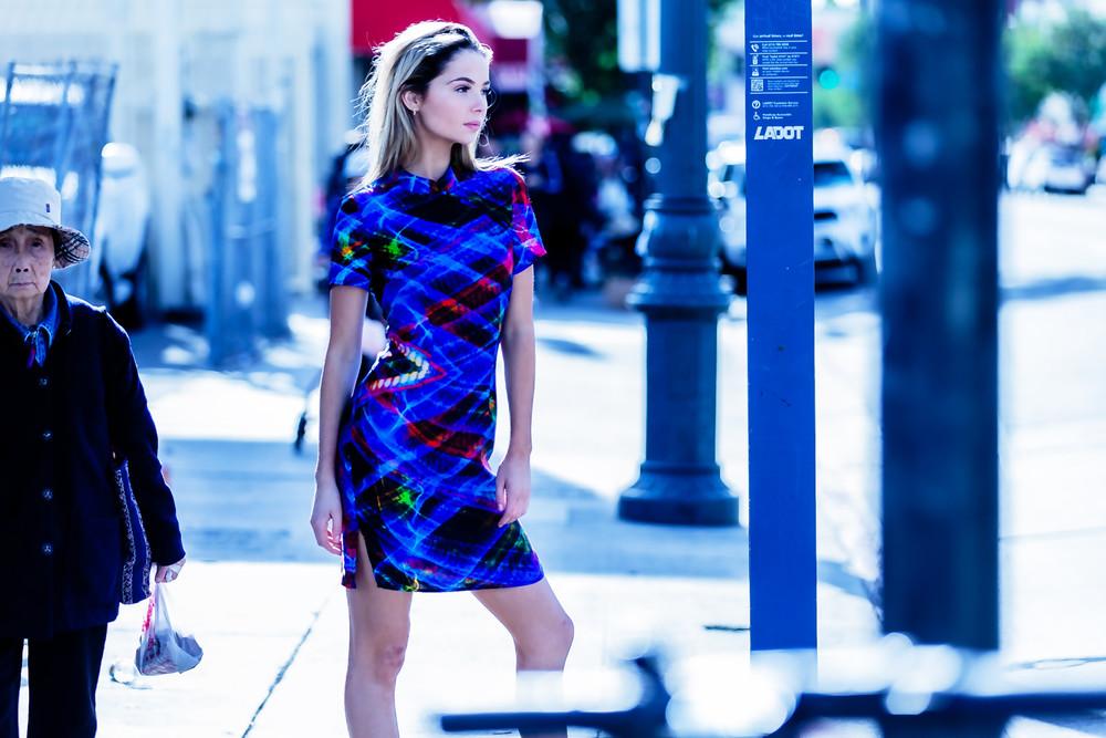 Model And Pedestrian Photography Art | David Louis Klein