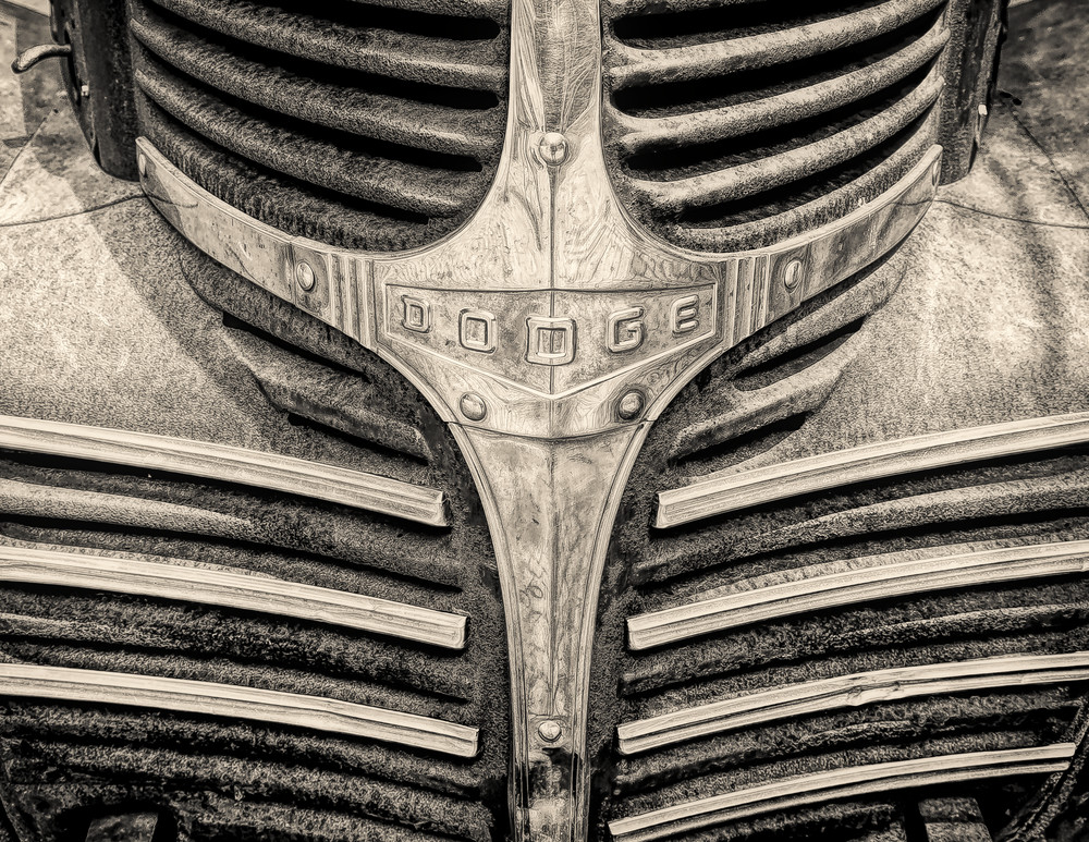 Dodge B W Photography Art | Robert Leaper Photography