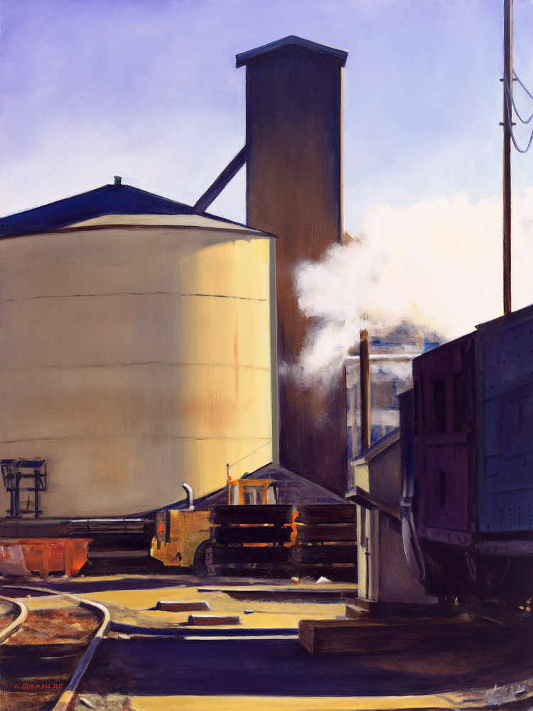 Afternoon in the Steamtown Yards