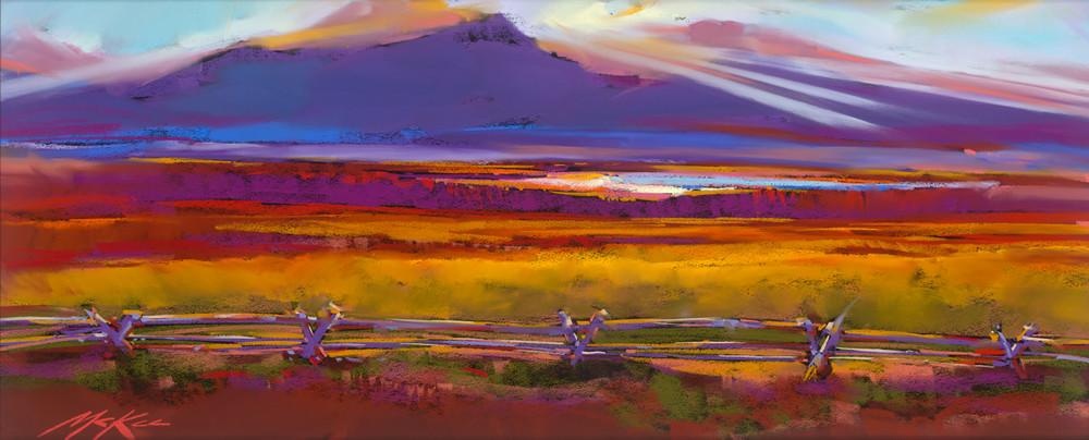 Teton Setting   Cropped Copy Art | Michael Mckee Gallery Inc.