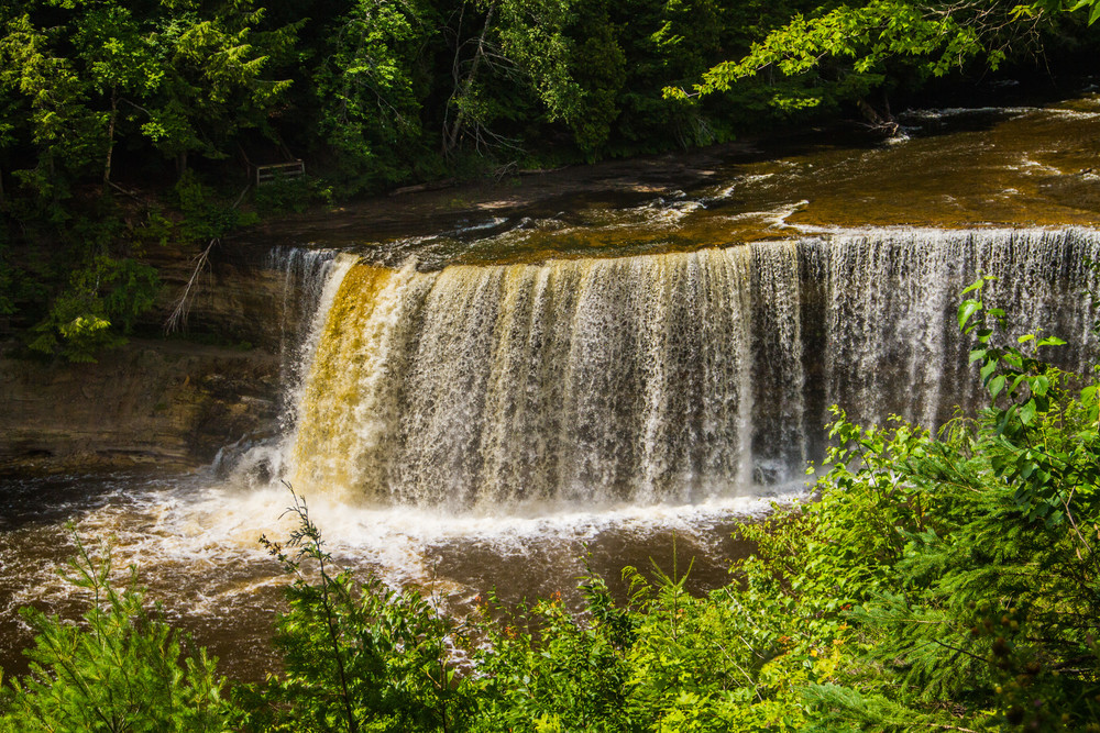Tahquamenon Falls Photography Art   Lake LIfe Images