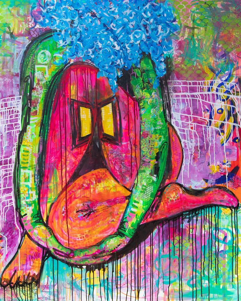 A Woman At Home Art | Becka Watkins Art