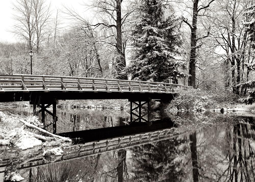 Alton Baker Park With Snow Art | Shaun McGrath Photography